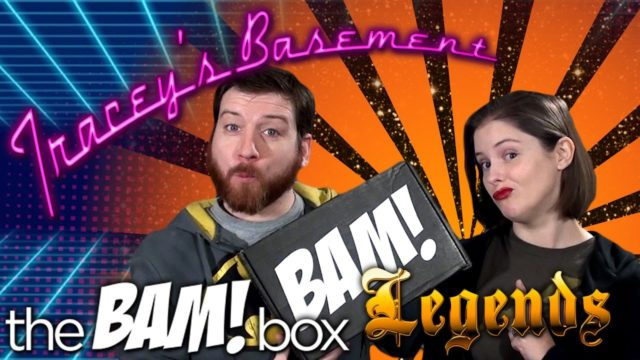 The BAM Box Legends Unboxing December 2016