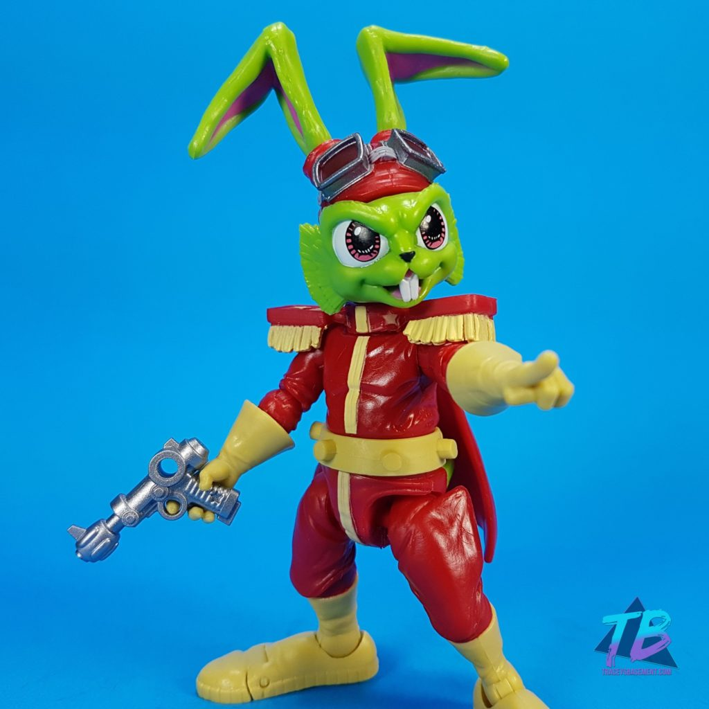 Bossfight-Studio-Bucky-Ohare-action-figure-point-1024x1024 Boss Fight Studio (AMAZING) Bucky O'Hare and First Mate Jenny Action Figures! Toys and Collectibles Videos