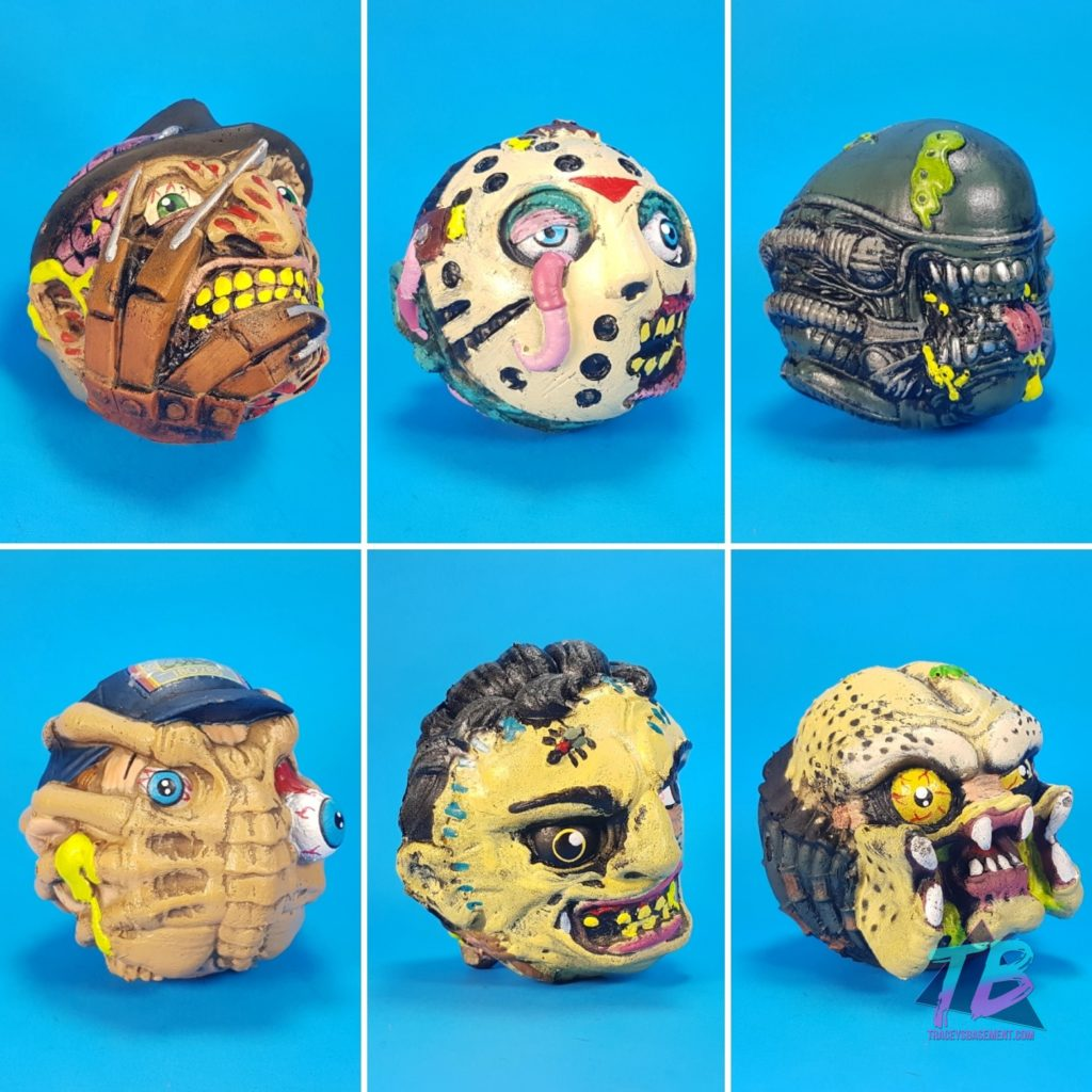 Horror-Sci-Fi-Madballs-Series-1-Full-wave-1024x1024 Super Gross & Awesome Horror & Sci-Fi Madballs: Series 1 from NECA & Kidrobot! Foam, Freaky & Fun! Toys and Collectibles Videos