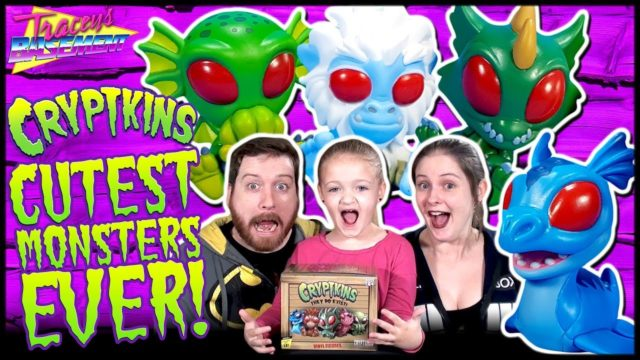 Cryptkins Blind Box Mystery Figures by Cryptozoic Full Case Unboxing! CUTEST MONSTERS EVER! Tracey's Basement
