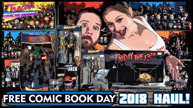 Free Comic Book Day Haul Comic Toys Collectibles