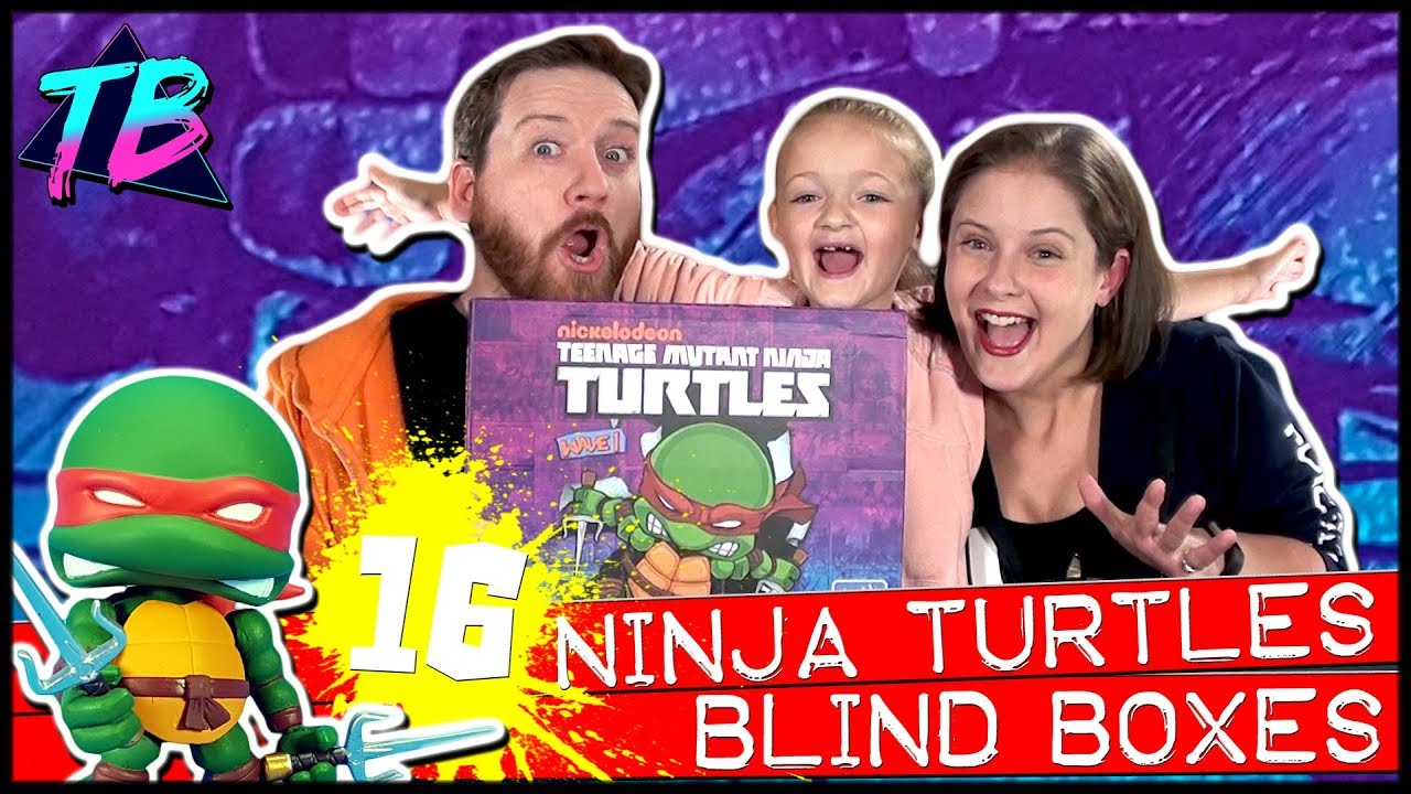 Teenage Mutant Ninja Turtles Loyal Subjects Blind Boxes Wave 1 Full Case! Unboxing 16 TMNT Figures!