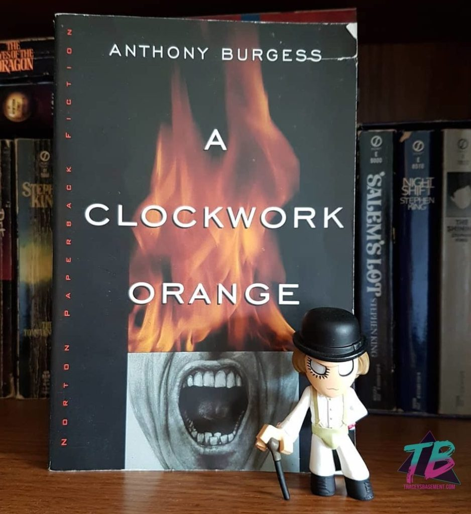 "A-Clockwork-Orange-by-Anthony-Burgess-with-Alex-DeLarge-Mystery-Mini-by-Funko-938x1024 ""A Clockwork Orange"" - Spoiler-Free Book Review Books Reviews"