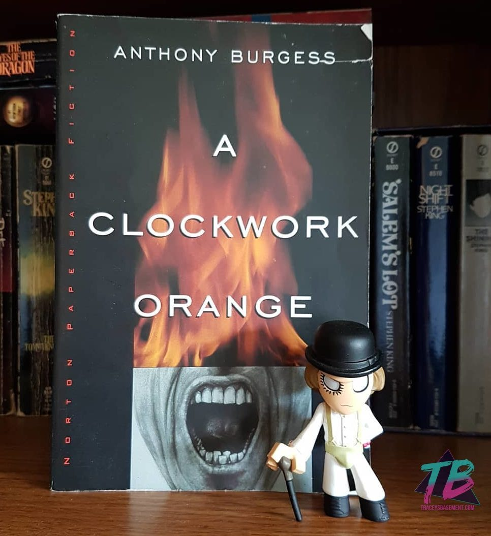 A Clockwork Orange by Anthony Burgess with Alex DeLarge Mystery Mini by Funko