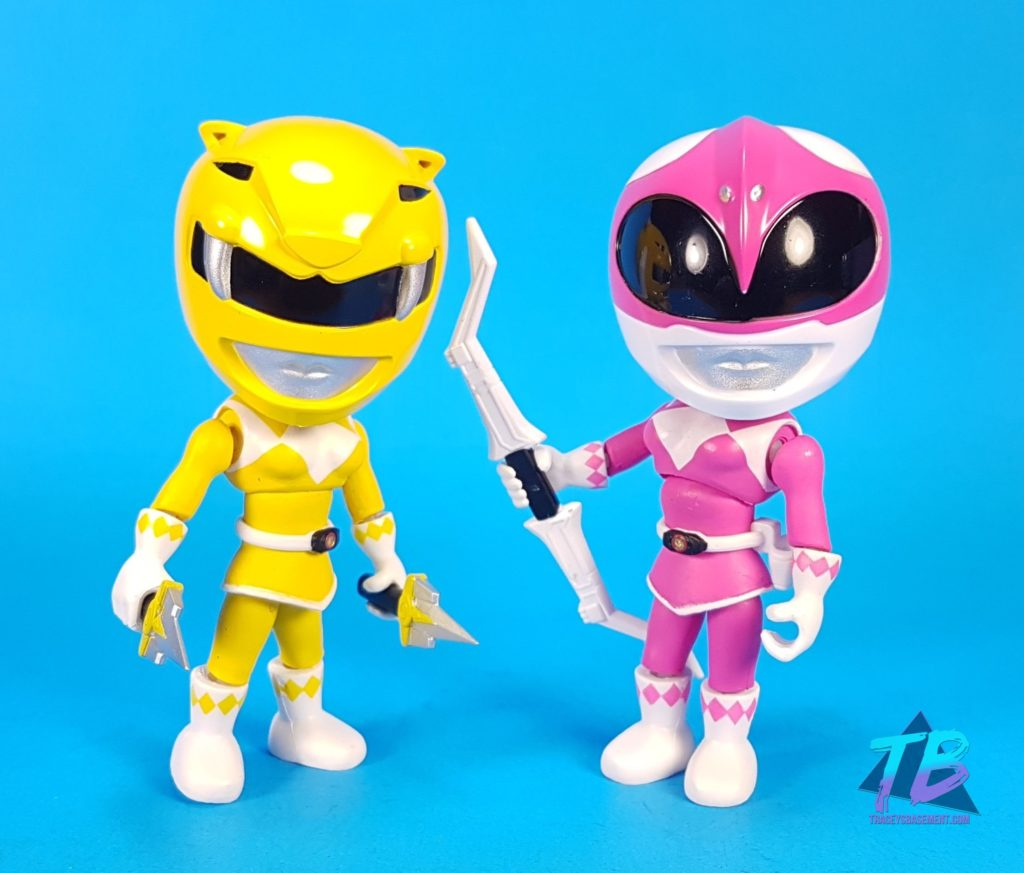 Giant-Robot-Comics-Toy-Haul-Power-Rangers-Loyal-Subjects-Pink-Yellow-Ranger-Helmets-On-With-Weapons-1024x873 Toy Haul from Giant Robot Comics! Toys and Collectibles Videos