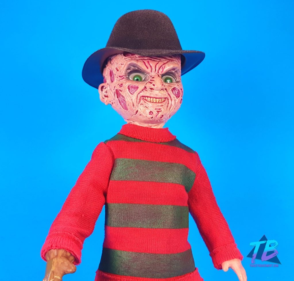 Living-Dead-Doll-Freddy-Krueger-Face-1024x981 Living Dead Doll Freddy Krueger from Mezco! Toys and Collectibles Videos
