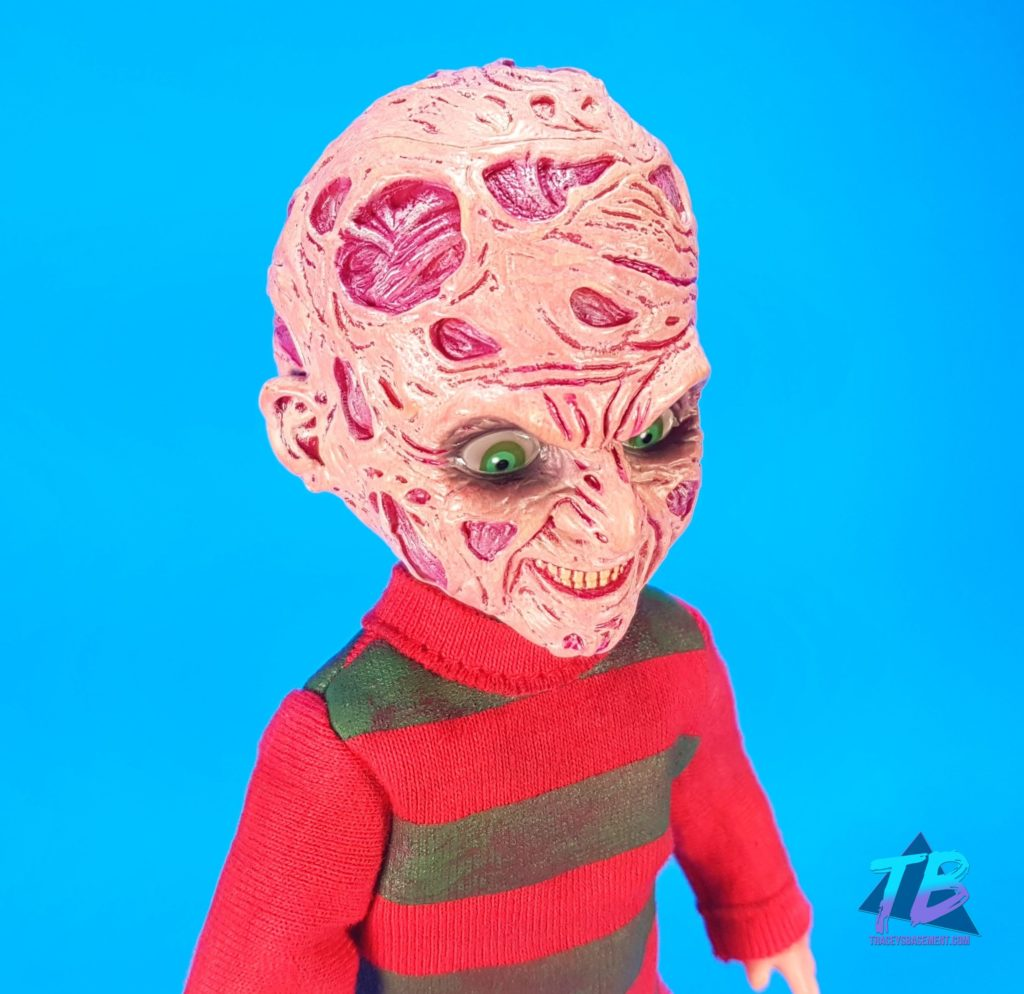 Living-Dead-Doll-Freddy-Krueger-Head-Front-1024x994 Living Dead Doll Freddy Krueger from Mezco! Toys and Collectibles Videos