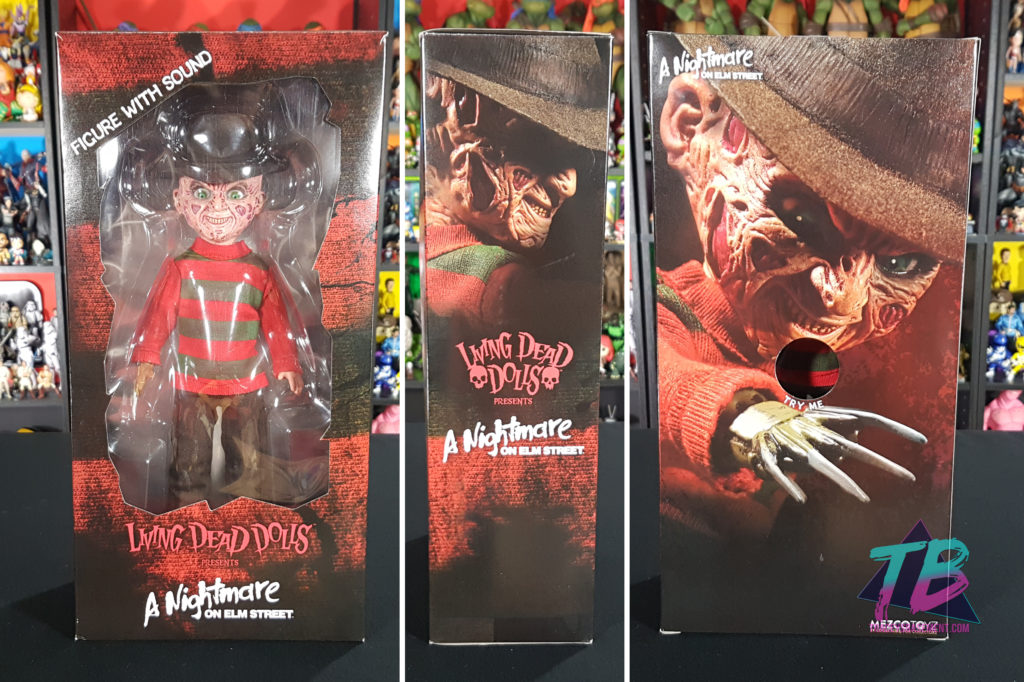Living-Dead-Doll-Freddy-Krueger-Mezco-Box-Packaging-1024x682 Living Dead Doll Freddy Krueger from Mezco! Toys and Collectibles Videos