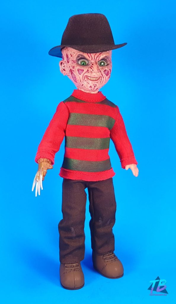 Living-Dead-Doll-Freddy-Krueger-Unboxed-594x1024 Living Dead Doll Freddy Krueger from Mezco! Toys and Collectibles Videos
