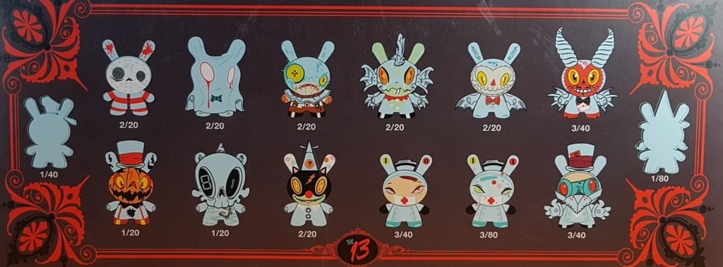 box-1024x379 The 13 Dunny Series! They GLOW IN THE DARK! Toys and Collectibles Videos