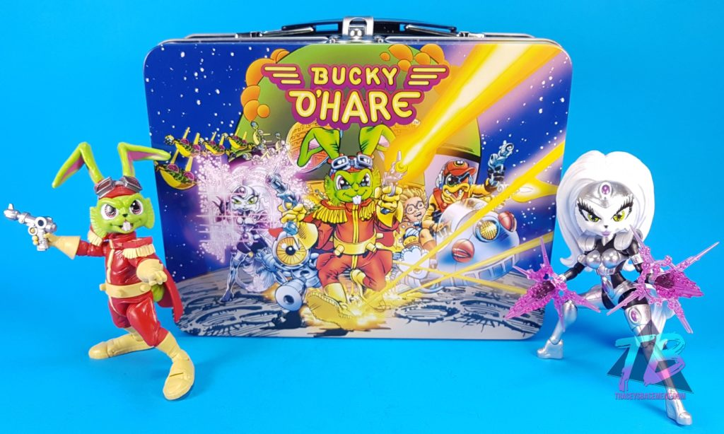 Bucky-O'Hare-and-First-Mate-Jenny-with-Deadeye-Duck-Exclusive-Lunch-Box-Action-Figures-by-Boss-Fight-Studio-1024x614 Boss Fight Studio Bucky O'Hare Corsair Canard Deadeye Duck Exclusive! Toy News Toys and Collectibles