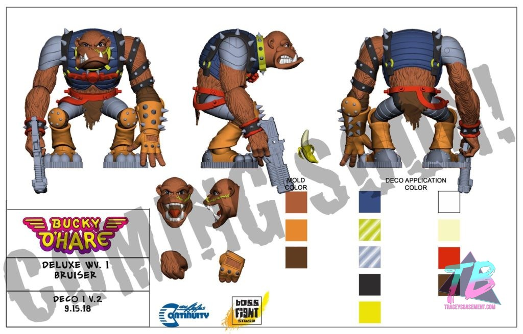 Bucky-Ohare-Bruiser-The-Betelgeusian-Berseker-Baboon-Action-Figure-Boss-Fight-Studio-1024x655 Bucky O'Hare Bruiser The Betelgeusian Berserker Baboon Action Figure Announced by Boss Fight Studio! Toy News Toys and Collectibles