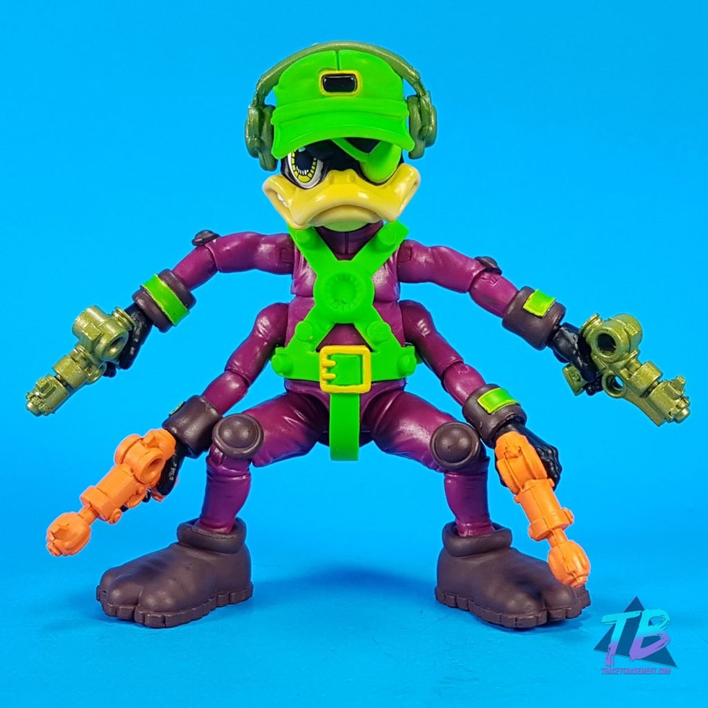 Deadeye-Duck-Corsair-Canard-Boss-Fight-Studio-Big-Bad-Toy-Store-Exclusive-Bucky-O'Hare-Action-Figure-Action-Pose-1024x1024 Boss Fight Studio Bucky O'Hare Corsair Canard Deadeye Duck Exclusive! Toy News Toys and Collectibles