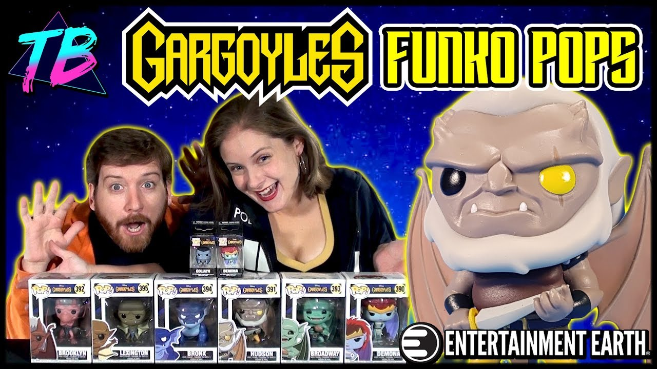 Disney Gargoyles Funko Pops Haul Entertainment Earth