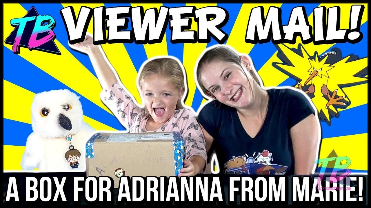 Marie Viewer Mail for Adrianna Books Pokemon DBZ TMNT Star Wars and More Featured Image