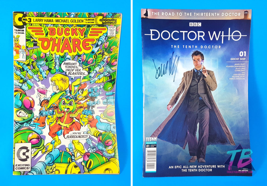 Marie-Viewer-Mail-for-Adrianna-Comics-Bucky-OHare-Doctor-Who-Tenth-David-Tennant-1024x716 Viewer Mail from Marie! TMNT, Pokemon & More! Mail Calls Videos