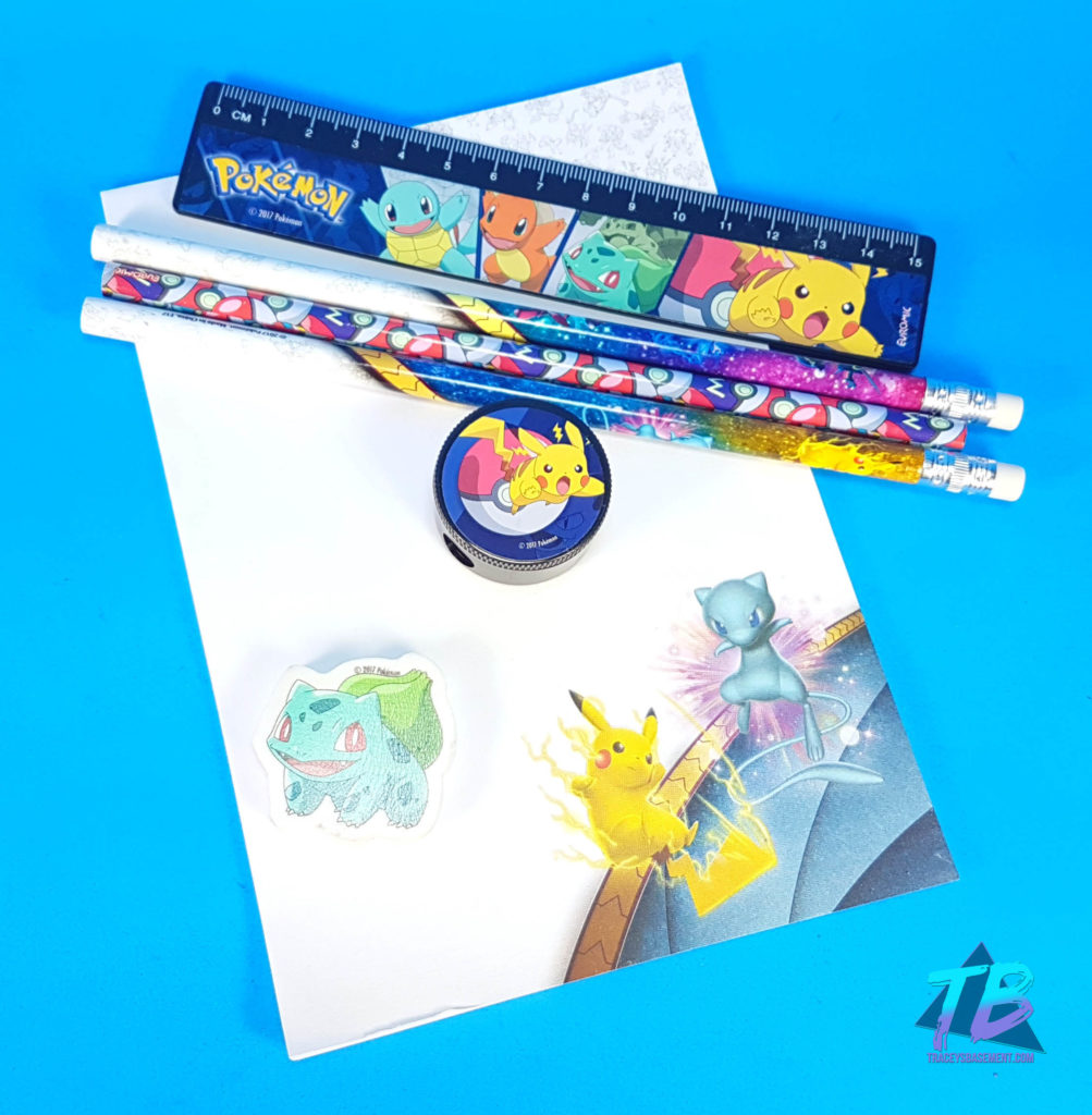 Marie-Viewer-Mail-for-Adrianna-Stationary-Pokemon-School-Supplies-Pikachu-Mew-Bulbasaur-1003x1024 Viewer Mail from Marie! TMNT, Pokemon & More! Mail Calls Videos