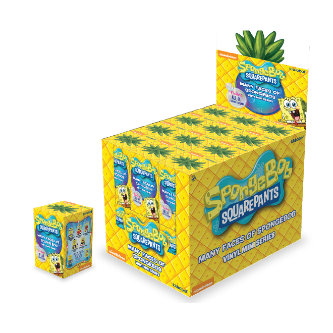 The-Many-Faces-of-Spongebob-Squarepants-Kidrobot-x-Nickelodeon-Blind-Box-Series-Full-Case-Set The Many Faces of Spongebob Dropping Tomorrow! Toy News