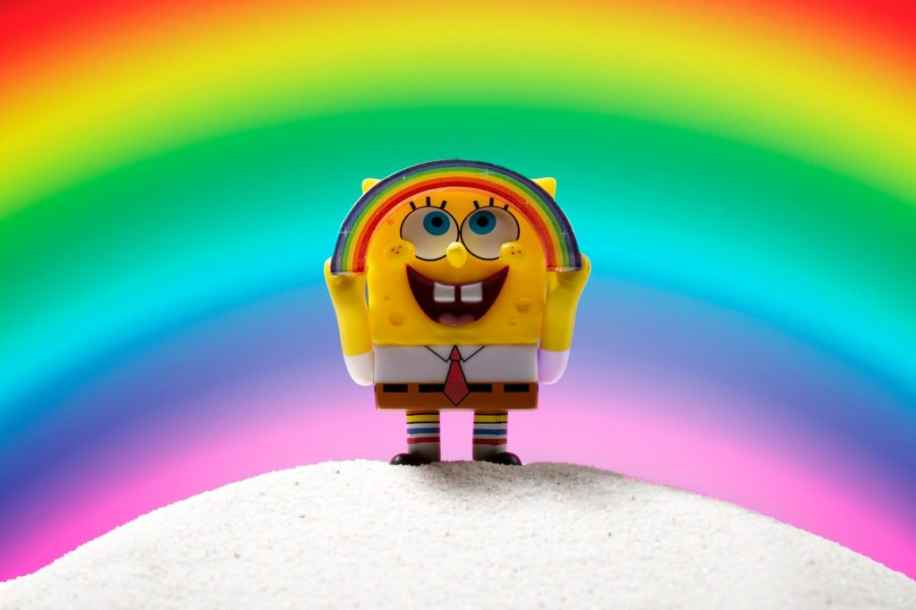 The-Many-Faces-of-Spongebob-Squarepants-Kidrobot-x-Nickelodeon-Blind-Box-Series-Imagination-Rainbow-Meme-1024x682 The Many Faces of Spongebob Dropping Tomorrow! Toy News