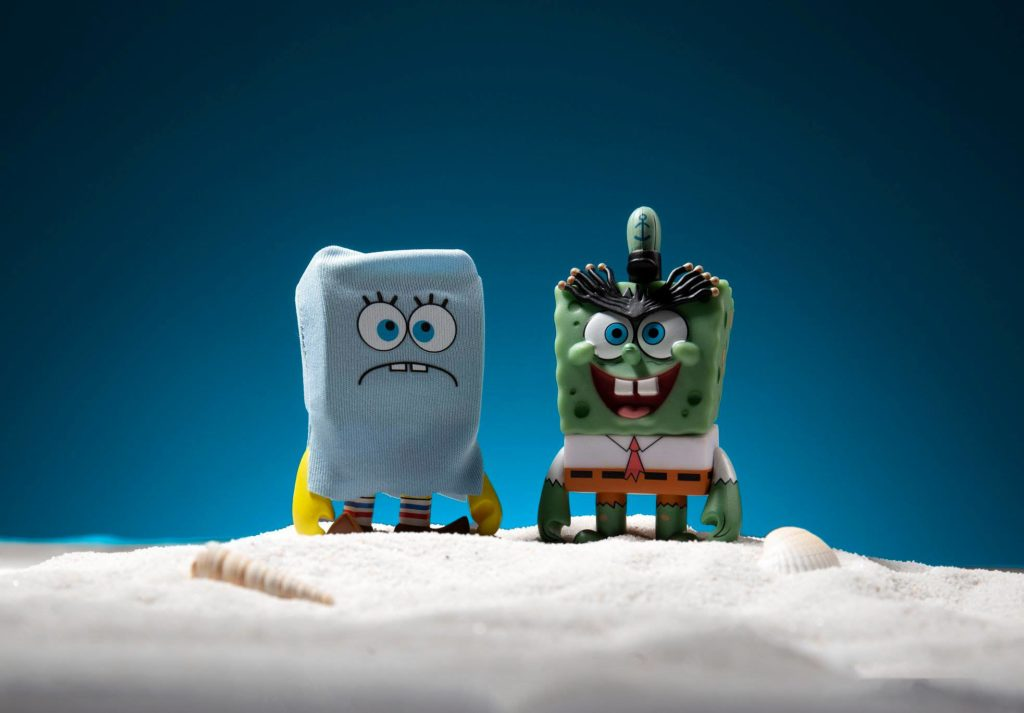 The-Many-Faces-of-Spongebob-Squarepants-Kidrobot-x-Nickelodeon-Blind-Box-Series-ScaredyPants-The-Creature-Frumunda-Da-Sink-Halloween-Specials-1024x713 The Many Faces of Spongebob Dropping Tomorrow! Toy News