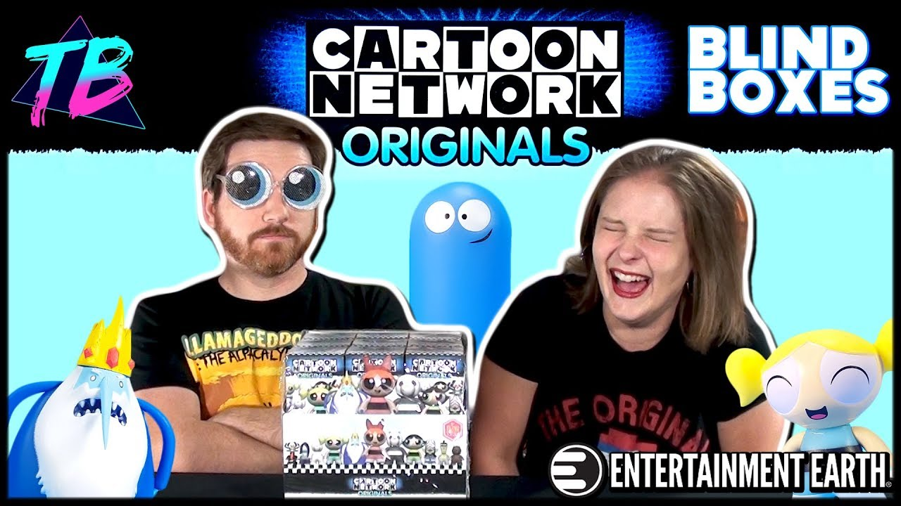 Titans Merchandise Vinyls Blind Boxes Unboxing Cartoon Network Originals Entertainment Earth YouTube Thumbnail Featured Image