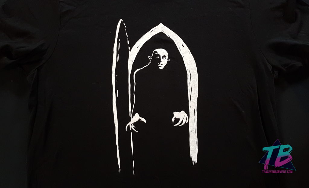 Comet-TV-Hushaween-October-Halloween-2018-Promo-Trick-or-Treat-Nosferatu-Shirt-1024x623 Hushaween Unboxing from Comet TV! Mail Calls Videos