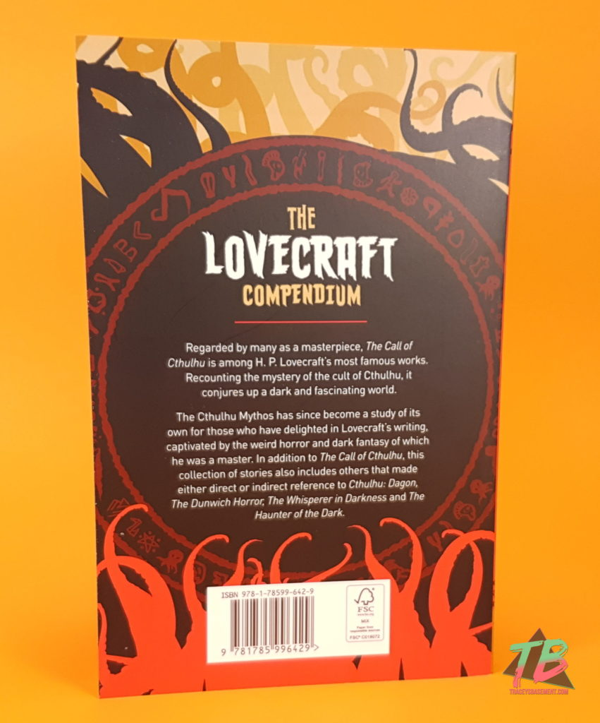 Halloween-To-Be-Read-List-October-2018-TBR-Books-Horror-Novels-HP-Lovecraft-The-Lovecraft-Compendium-Back-851x1024 October 2018 TBR : My Halloween To-Be-Read Channel Updates and Other Videos