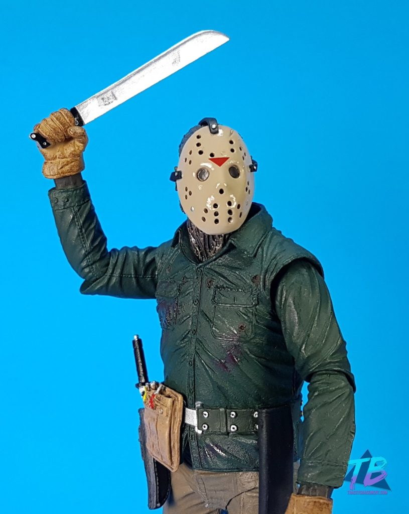 NECA-Toys-Ultimate-Friday-the-13th-Part-VI-Jason-Lives-Jason-Voorhees-Action-Figure-Unboxed-With-Mask-and-Machete-Close-Up-815x1024 Jason Lives! NECA Ultimate Part VI Jason Voorhees Toys and Collectibles Videos