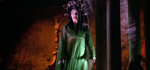 The Gorgon Hammer Horror Films Movie Review Megaera