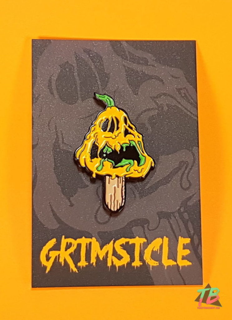 Viewer-Mail-from-LaFox-Grimsicle-Pins-Pumpkill-Pie-Pop-Enamel-Pin-with-Backing-Card-744x1024 Grimsicle Enamel Pins & Itty Bittys! Mail from LaFox! Mail Calls Videos