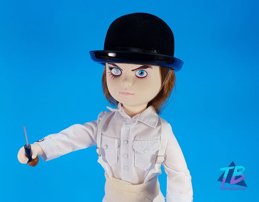 Viewer-Subscriber-Fan-Mail-from-River-for-Tracey-Mezco-Toys-Living-Dead-Doll-Alex-Delarge-A-Clockwork-Orange-Unboxed-Close-Up-with-Knife-1024x800 HUGE Viewer Mail Unboxing from River! Mail Calls Videos