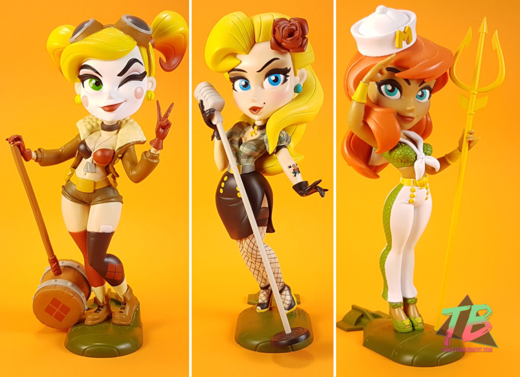 DC-Bombshells-Series-3-Cryptozoic-DC-Comics-Harley-Quinn-Black-Canary-Mera-Orange-1024x743 DC Bombshells Series 3 & Bag Clips from Cryptozoic Toys and Collectibles Videos