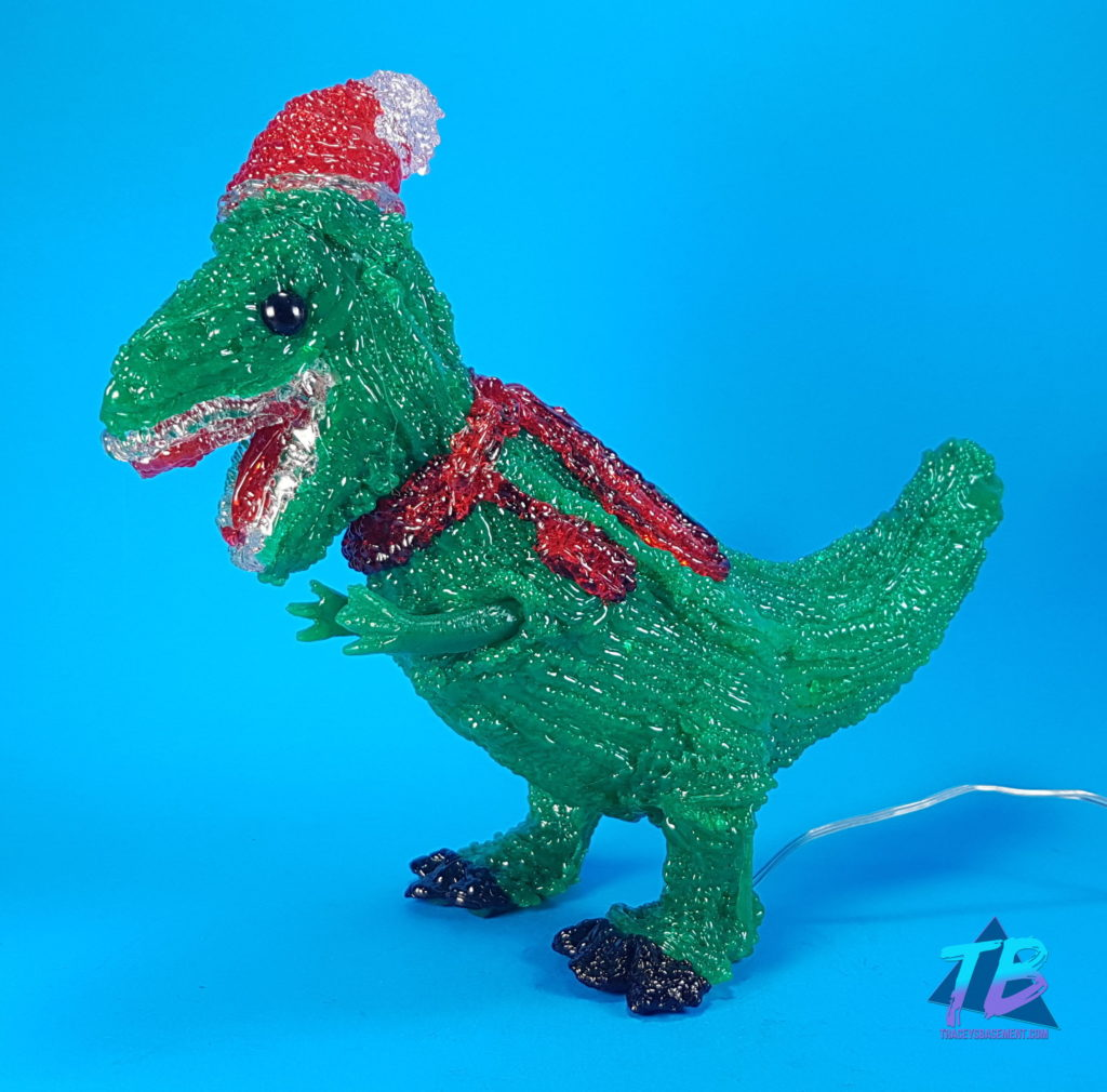Sideshow-Collectibles-and-More-from-Marie-Viewer-Mail-Christmas-Dinosaur-T-Rex-Santa-Hat-Lamp-1024x1010 Sideshow Collectibles Freddy & More from Marie! Mail Calls Videos