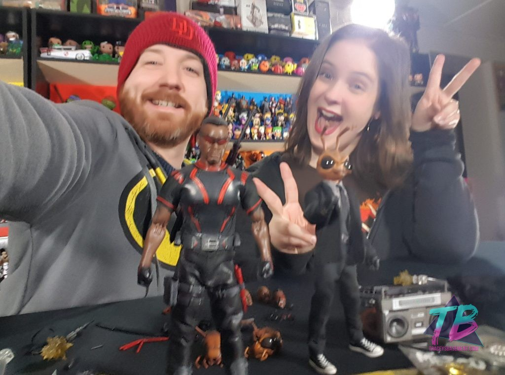 Mezco-Toyz-Toy-Fair-2019-Press-Goodie-Bag-Unboxing-Exclusive-Agent-Gomez-Blade-One-12-Two-Happy-Geeks-1024x761 Mezco Toyz Toy Fair 2019 Agent Gomez & Blade! Toys and Collectibles Videos
