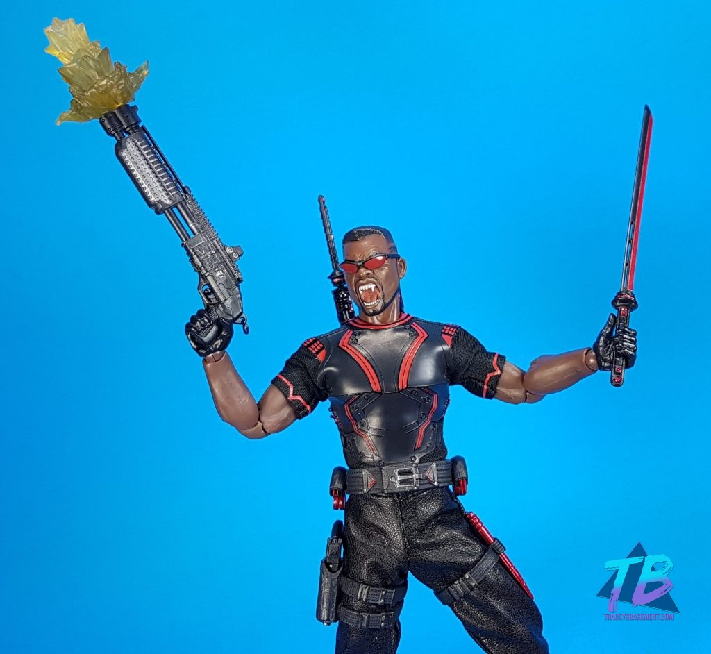 Mezco-Toyz-Toy-Fair-2019-Press-Goodie-Bag-Unboxing-Exclusive-Blade-One-12-Marvel-Blade-Fangs-and-Weapons-1024x942 Mezco Toyz Toy Fair 2019 Agent Gomez & Blade! Toys and Collectibles Videos