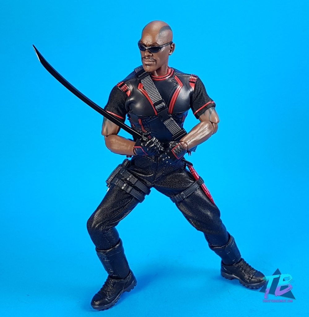 Mezco-Toyz-Toy-Fair-2019-Press-Goodie-Bag-Unboxing-Exclusive-Blade-One-12-Marvel-Blade-Shades-and-Sword-998x1024 Mezco Toyz Toy Fair 2019 Agent Gomez & Blade! Toys and Collectibles Videos