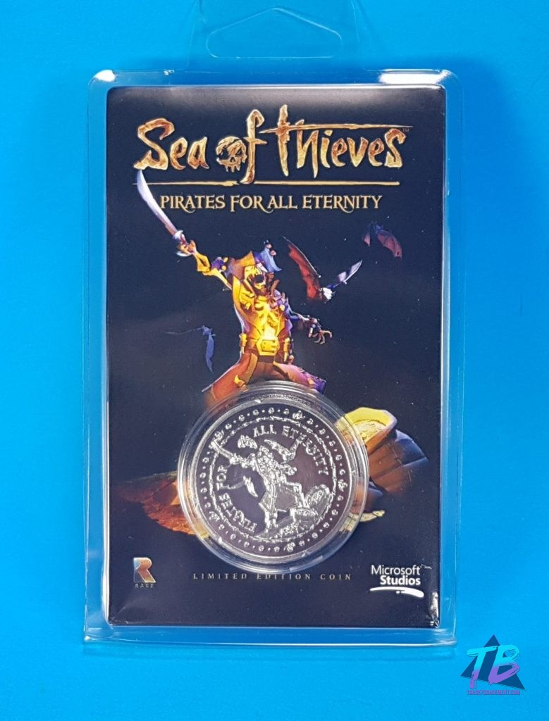 My-Geek-Box-Subscription-Service-Unboxing-May-2019-Sea-of-Thieves-Pirates-For-All-Eternity-Collectible-Coin-Front-779x1024 My Geek Box for May 2019 with JOKER POKER! My Geek Box Subscription Boxes Videos