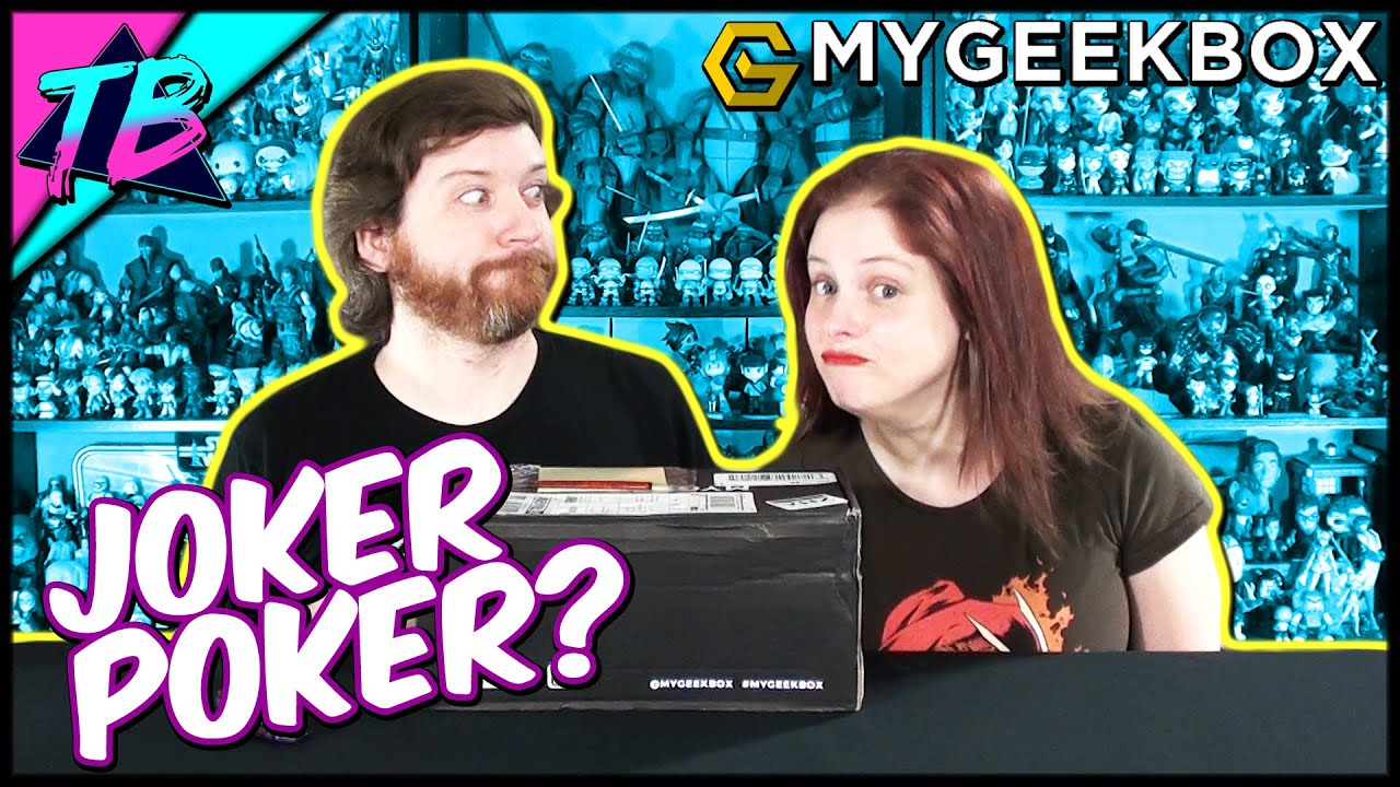 My Geek Box Subscription Service Unboxing May 2019