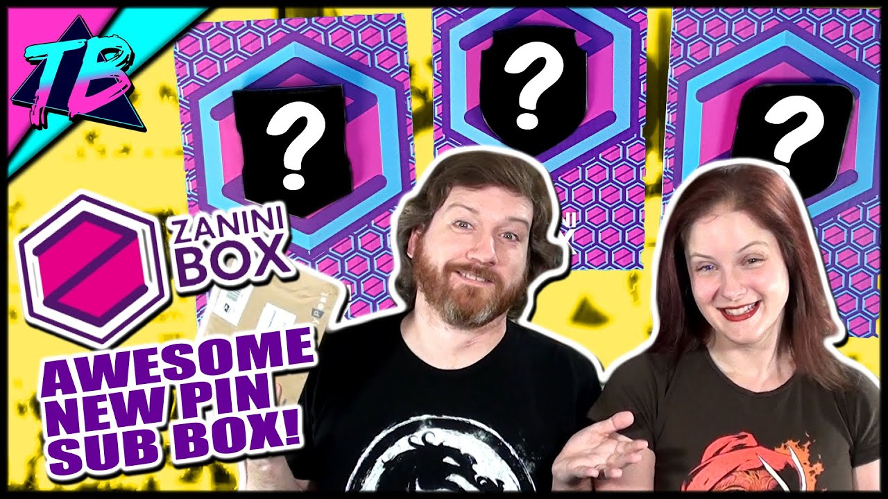 New Subscription Service Enamel Pins Zanini Box First Ever Unboxing