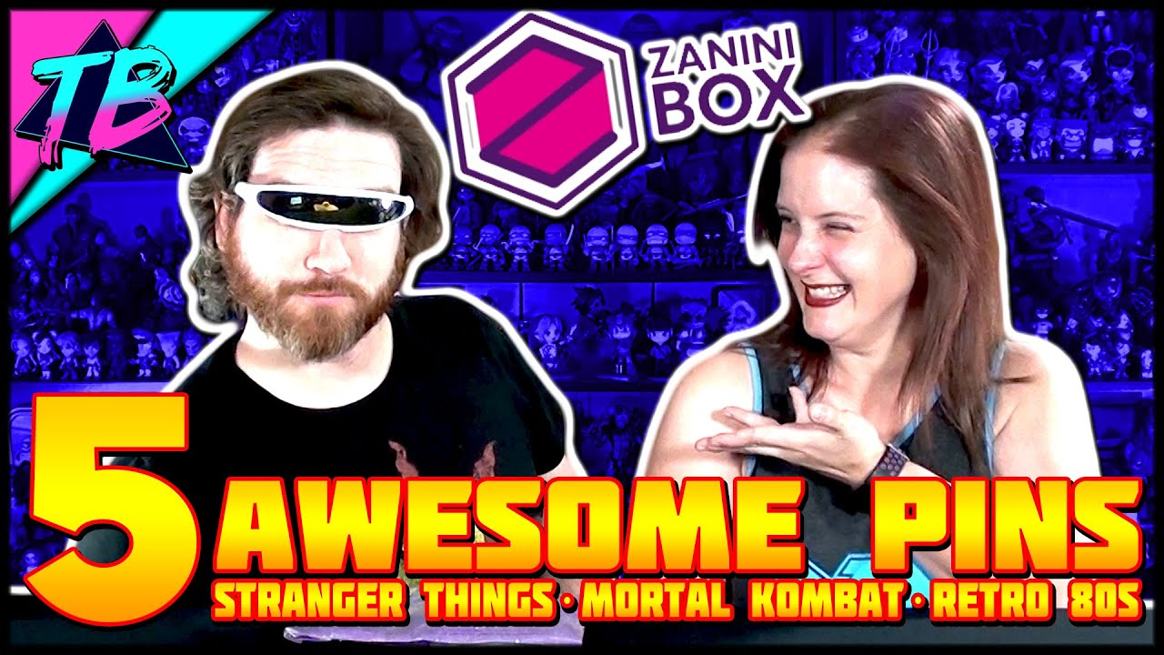 Zanini Box Enamel Pins Subscription Service Unboxing July 2019