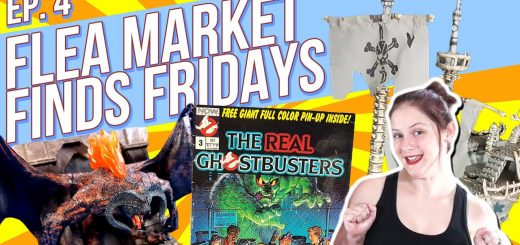 Flea Market Finds Fridays! Episode 4 Stephen King Buffy the Vampire Slayer The Real Ghostbusters Mega Bloks Lord of the Rings