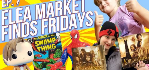 Flea Market Finds Fridays Episode 7 Lord of the Rings Swamp Thing Comics Funko Pop Doctor Who Spider Man