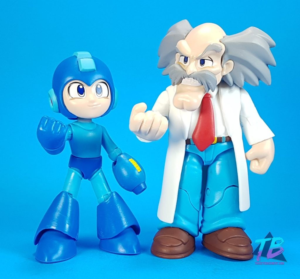 Mega-Man-by-Funko-Classic-Blue-and-Dr-Wily-Out-of-Box-Posed-1024x952 Super Fighting Robot! Mega Man Figures from Funko! Toys and Collectibles Videos