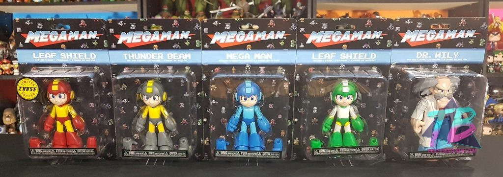 Mega-Man-by-Funko-Dr-Wily-Leaf-Shield-Thunder-Beam-Limited-Chase-In-Package-1024x362 Super Fighting Robot! Mega Man Figures from Funko! Toys and Collectibles Videos