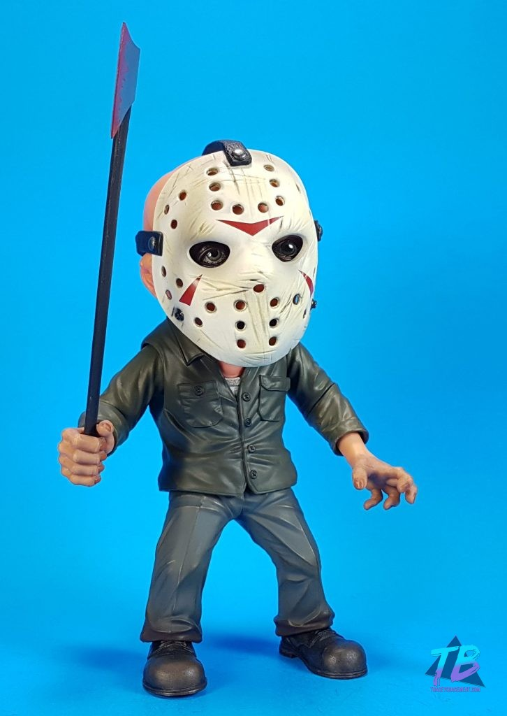 Mezco-Toyz-Deluxe-Stylized-Friday-the-13th-Part-3-Jason-Voorhees-Bloody-Ax-726x1024 Friday the 13th Haul Feat. Neca, Mezco, & Funko Toys and Collectibles Videos