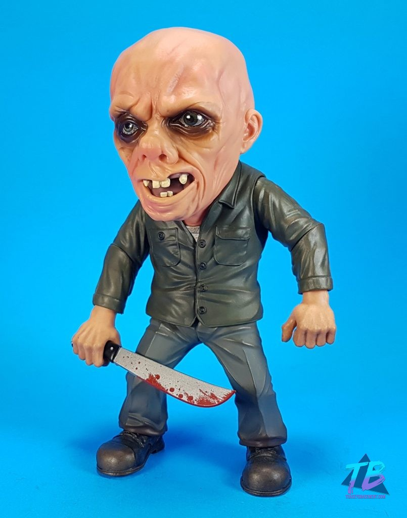 Mezco-Toyz-Deluxe-Stylized-Friday-the-13th-Part-3-Jason-Voorhees-Unmasked-Bloody-Machete-Held-Down-805x1024 Friday the 13th Haul Feat. Neca, Mezco, & Funko Toys and Collectibles Videos