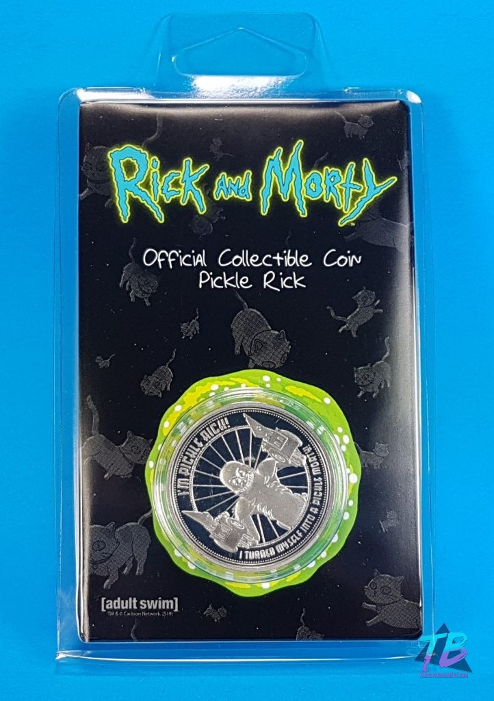 MyGeekBox-My-Geek-Box-Unboxing-August-2019-Rick-and-Morty-Pickle-Rick-Collectible-Coin-722x1024 Triple Threat Mail Call Unboxing! Mail Calls My Geek Box Subscription Boxes Threads Toys and Collectibles Videos