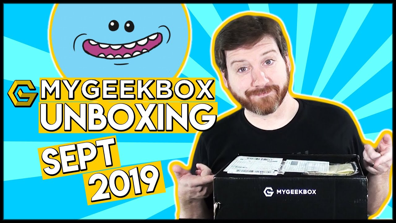 MyGeekBox Unboxing (September 2019)