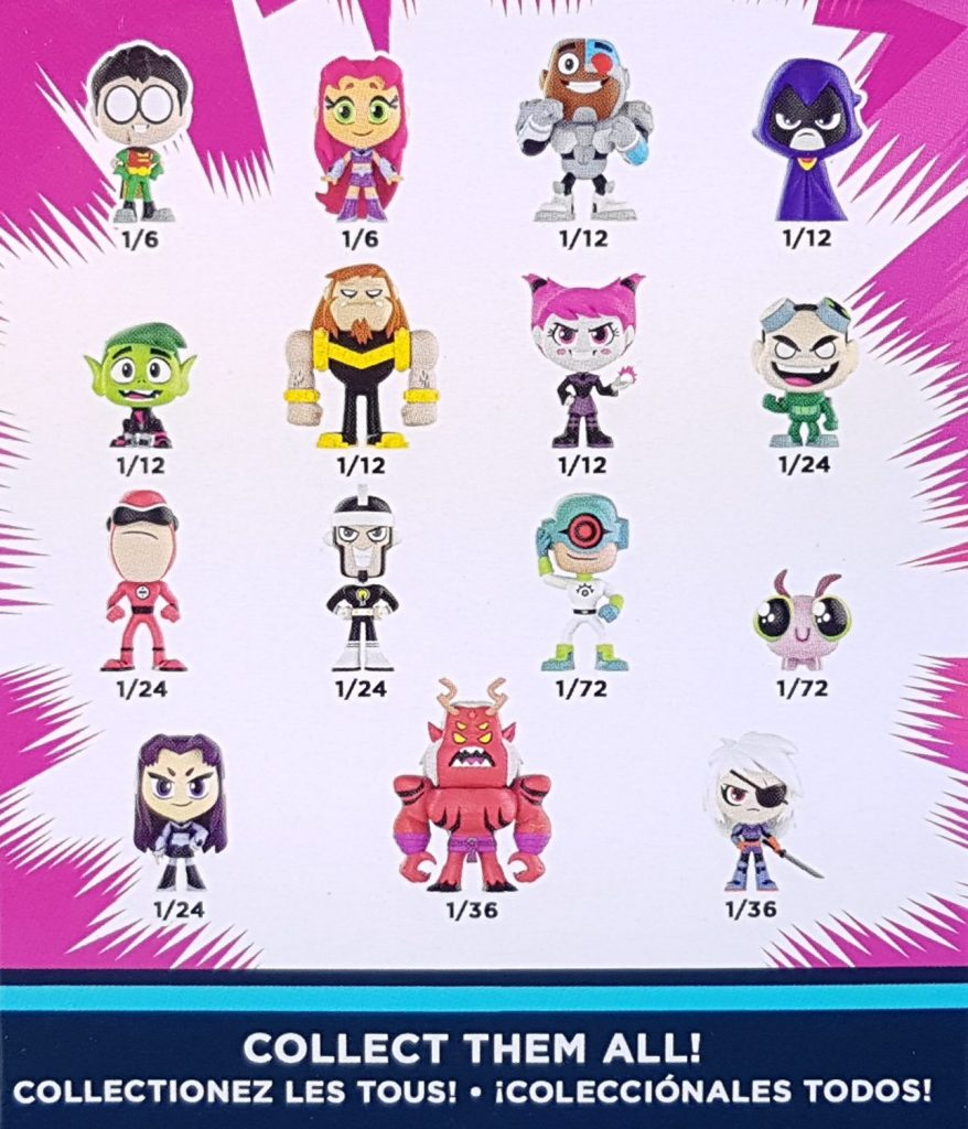 Teen-Titans-GO-Mystery-Minis-Blind-Boxes-by-Funko-Options-878x1024 Unboxing 15 Teen Titans GO! Mystery Minis Toys and Collectibles Videos