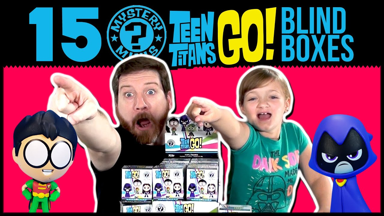 Unboxing 15 Teen Titans GO! Mystery Minis Blind Boxes